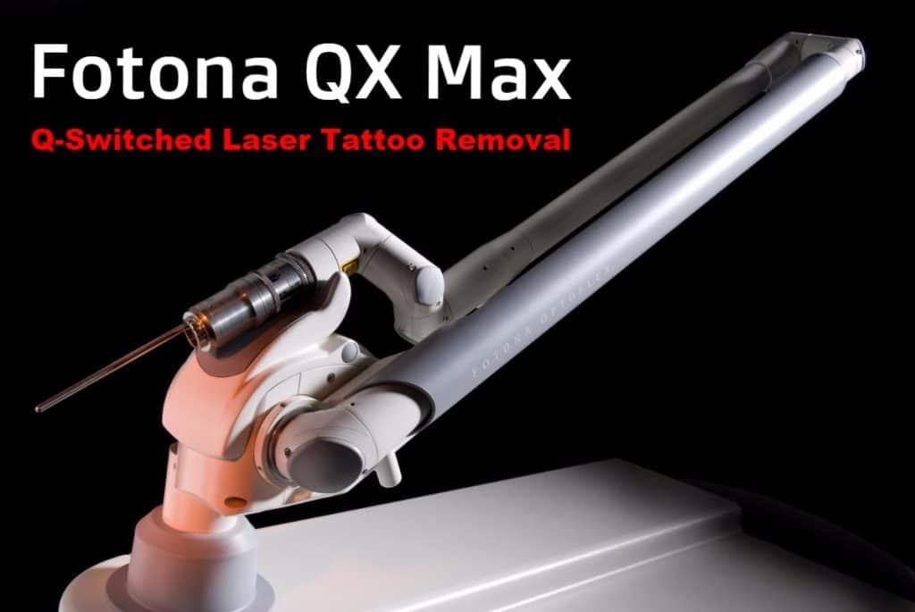 Fotona QX Max Laser Tattoo Removal