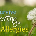 Survive Spring Allergies